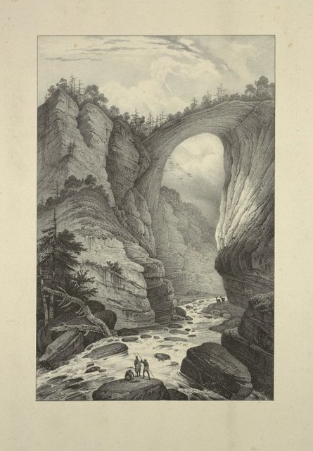 View of the Natural Bridge