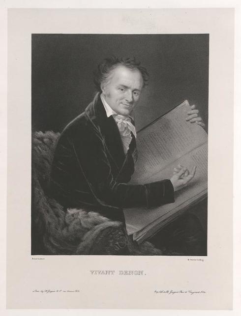 Frontispiece] [Portrait of Vivant Denon]