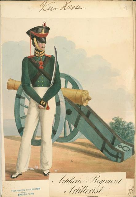 Germany, Hessen, 1830.
