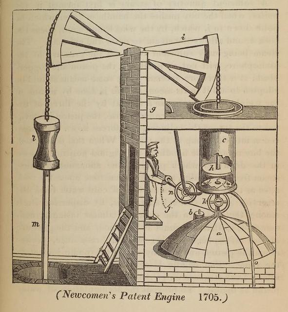 Newcomen's patent engine, 1705