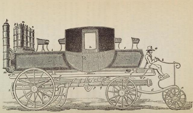 Patent steam carriage, by Mr. Goldsworthy Gurney, of Argyle Street, London, 1826