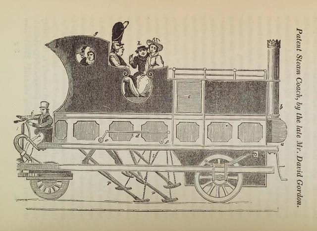 Patent steam coach, by the late Mr. David Gordon