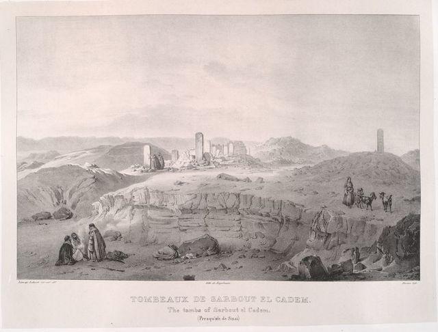 Tombeaux de Sarbout el Cadem [Sarabit al-Khadim] (2)