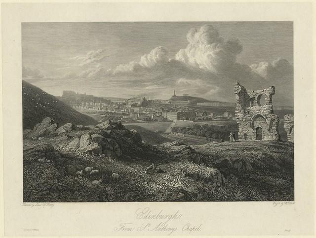 Edinburgh, from St. Anthonys Chapel.