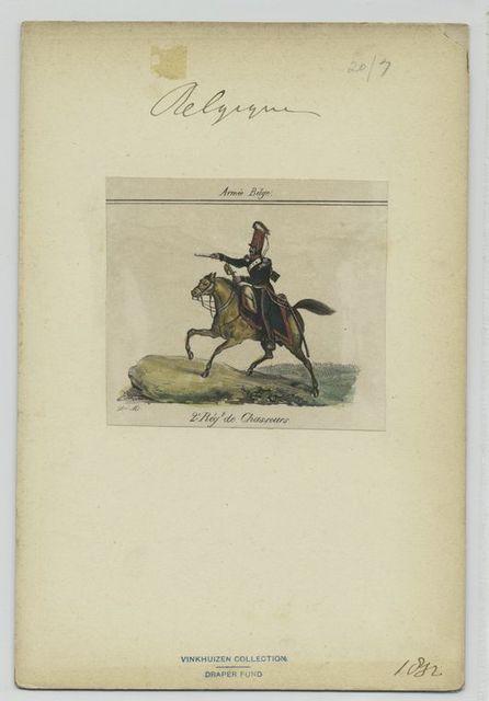 2e Régt de Chasseurs.