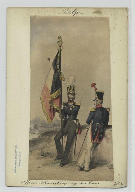 Officier- [] Infanterie Linie.