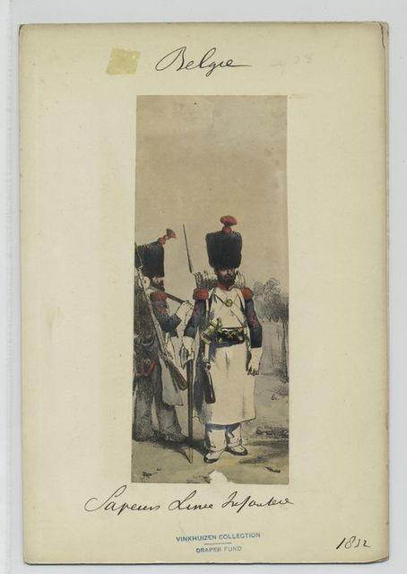 Sapeurs Line Infanterie.
