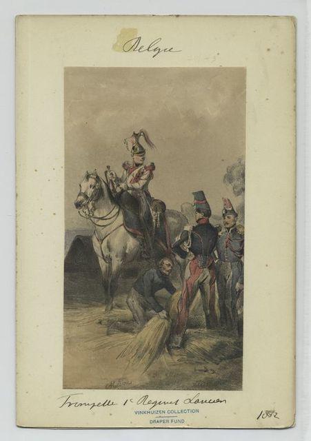 Trompette, 1' Regiment Lancier.