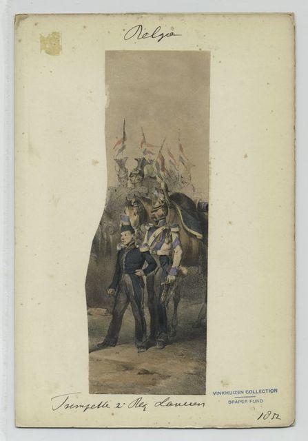 Trompette, 2' Regiment Lancier.