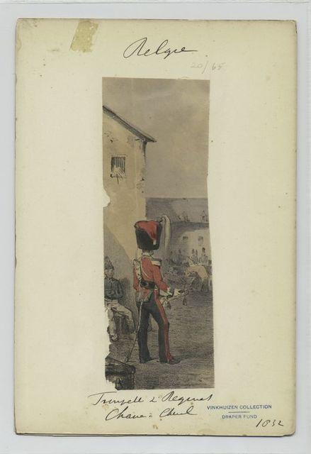 Trumpette 2' Regiment Chasseur à Cheval.