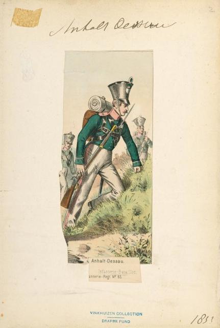 Germany, Anhalt, 1833-97