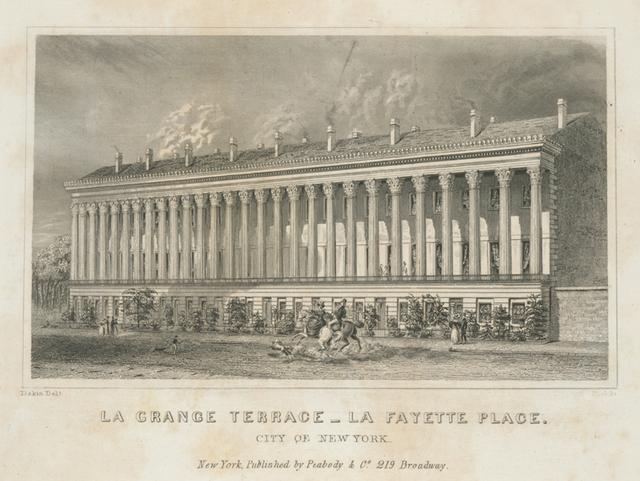 La Grange Terrace, La Fayette Place, City of New York.