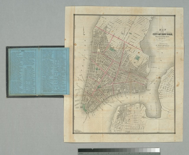 Map of the city of New-York