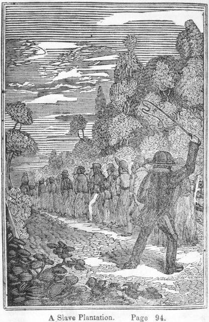 A slave plantation.