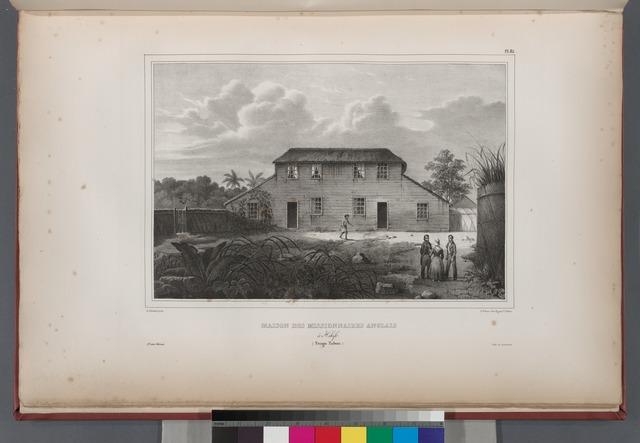 Maison des missionnaires Anglais. à Hihifo. (Tonga Tabou.).