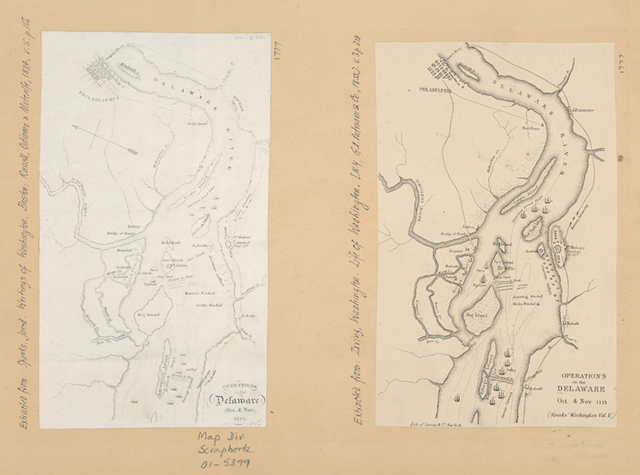 Operations in the Delaware, Oct. & Nov., 1777.