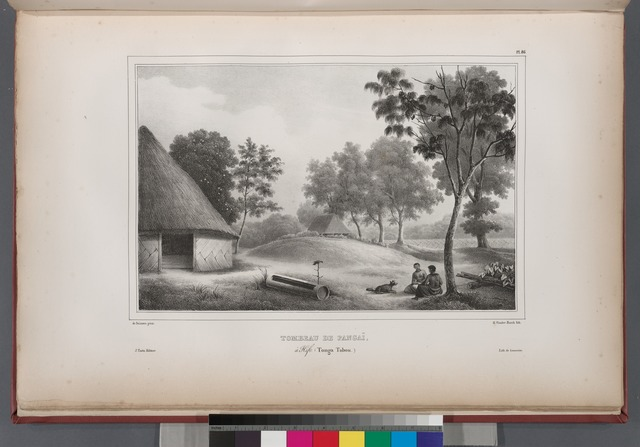 Tombeau de pangaï, àHifo. (Tonga Tabou.).