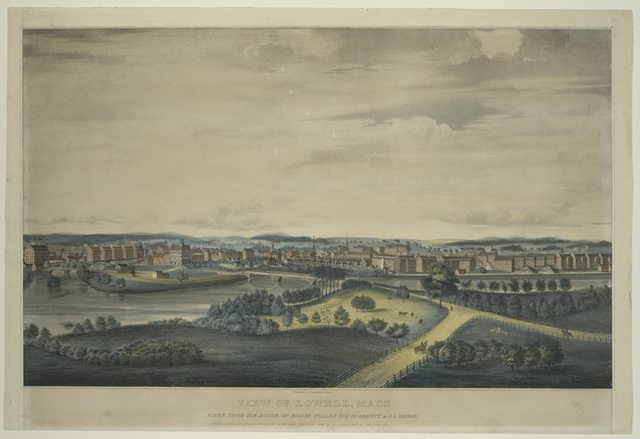 View of Lowell, Mass.