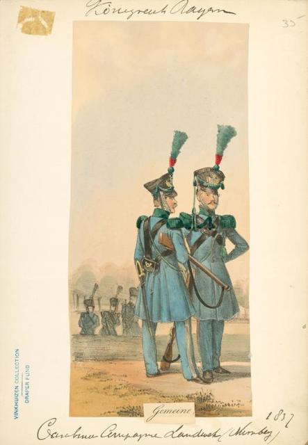 Germany, Bavaria, 1835-37.