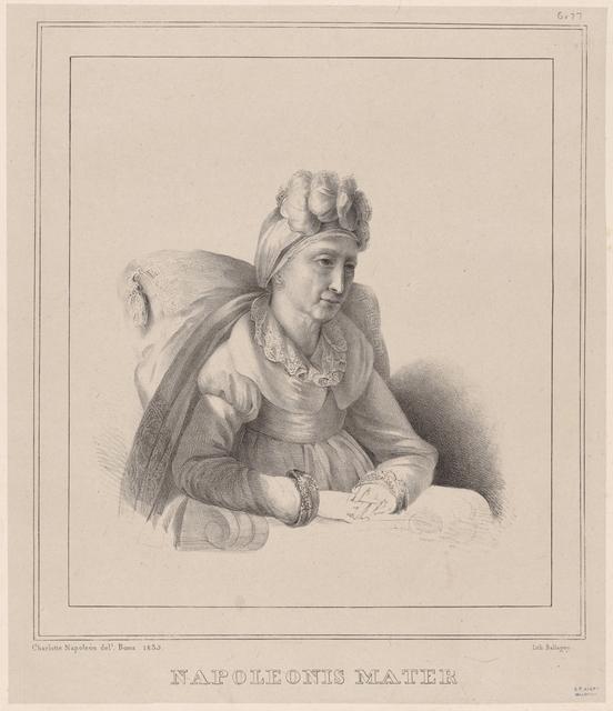 Napoleonis Mater [Portrait of Napoleon's Mother]