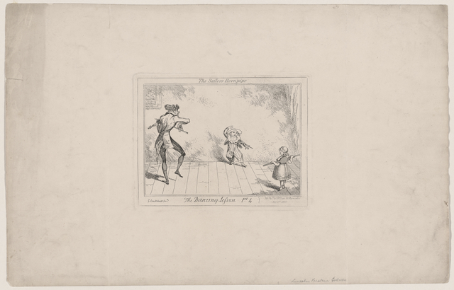 The dancing lesson, pt. 4, the sailors' hornpipe