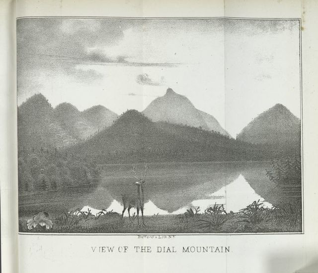 View of Dial Mountain.