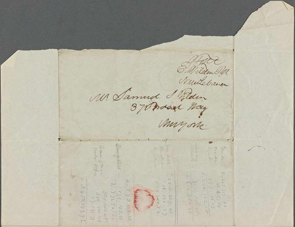 Tilden, Elam, 1839 Jan-June