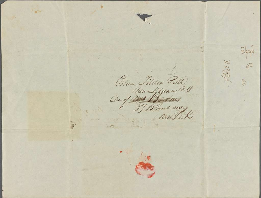 Tilden, Elam, 1839 Jan-June