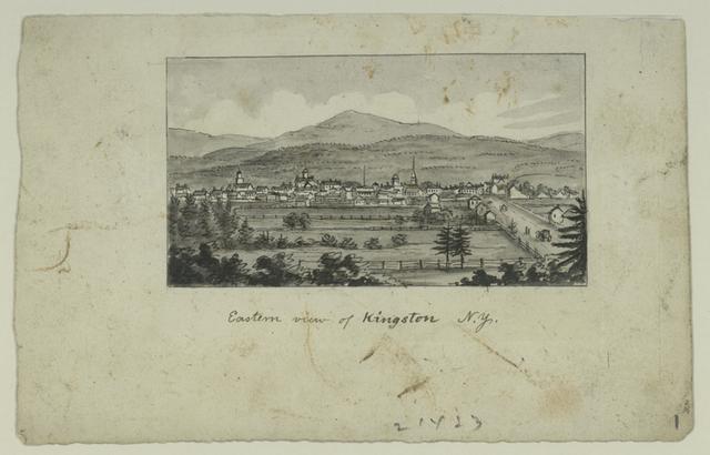 Eastern view of Kingston N.Y.