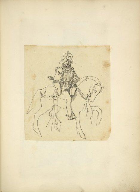 [Man on horseback.]