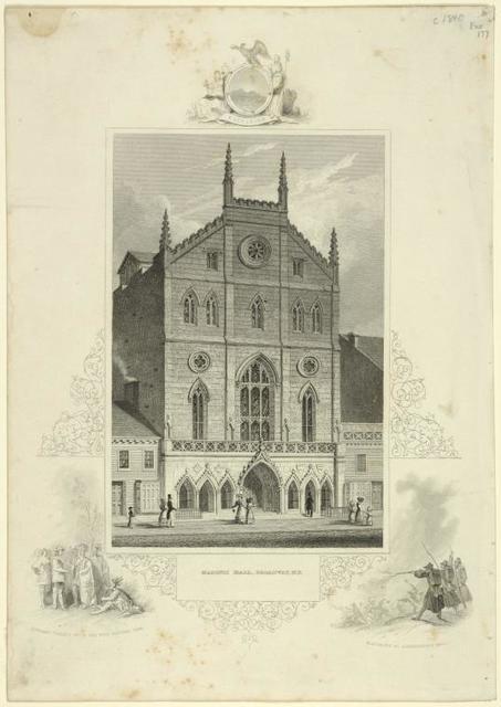 Masonic Hall, Broadway, N.Y.
