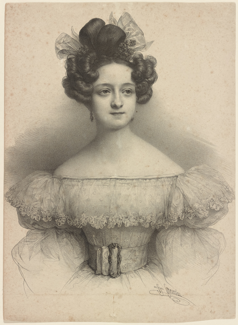 [Portrait: Lithograph] H. Grevedon