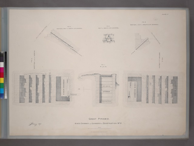 Great Pyramid. King's chamber and chambers of construction No. 2.