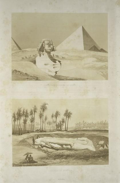 Pyramides et Sphinx de Giseh; Colosse de Memphis