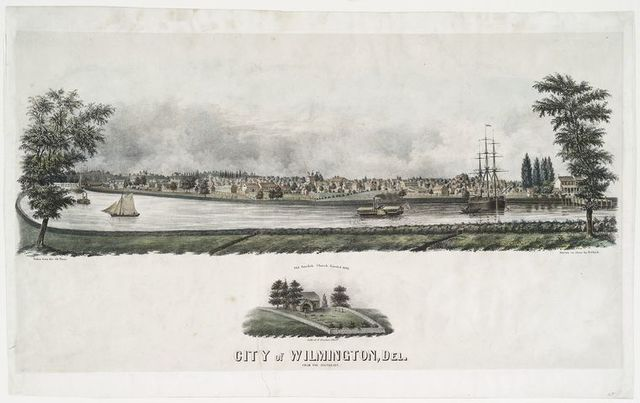 City of Wilmington, Del. from the south-east.