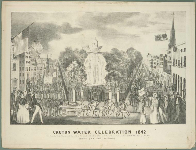 Croton water celebration 1842.
