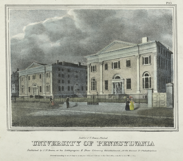 University of Pennsylvania. Pl. 15.
