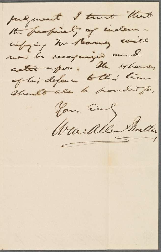 Butler, William Allen