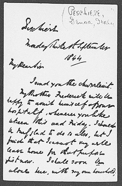 Curry, Thomas C. ALS to 1844 Sept. 30