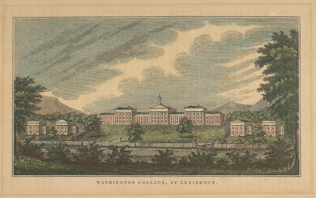 Washington College, at Lexington [Virginia].