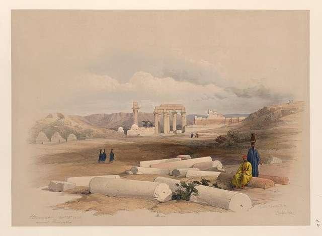 Hermont [Armant], ancient Hirmonthis. Nov. 26th, 1838.