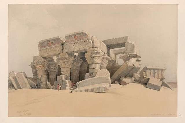 Kom Ombo. Nov. 21st, 1838.