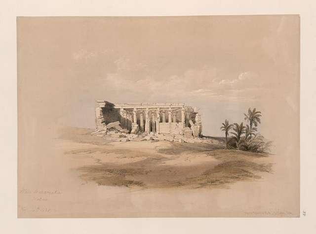 Wady Maharraka, Nubia. Nov. 14th, 1838.