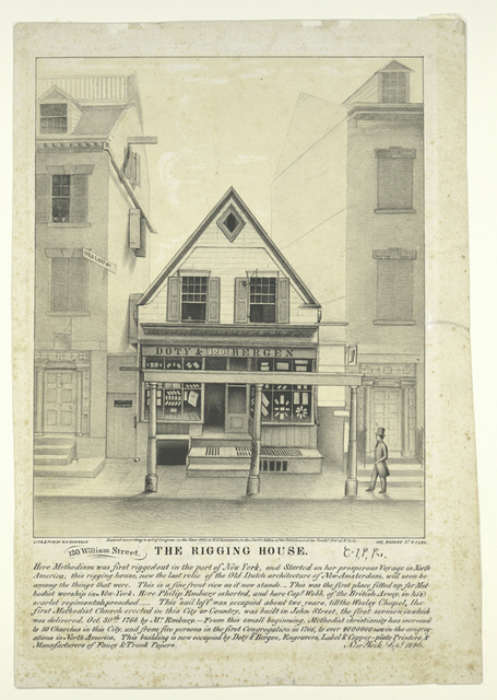 120 William Street.  The Rigging House.