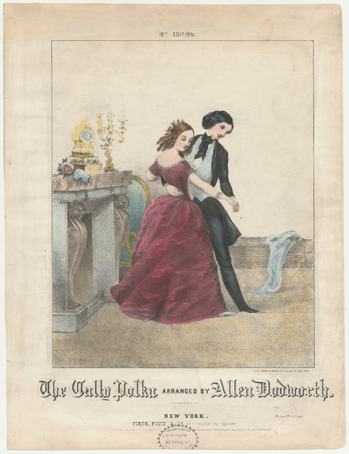 The Cally Polka Arranged by Allen Dodworth