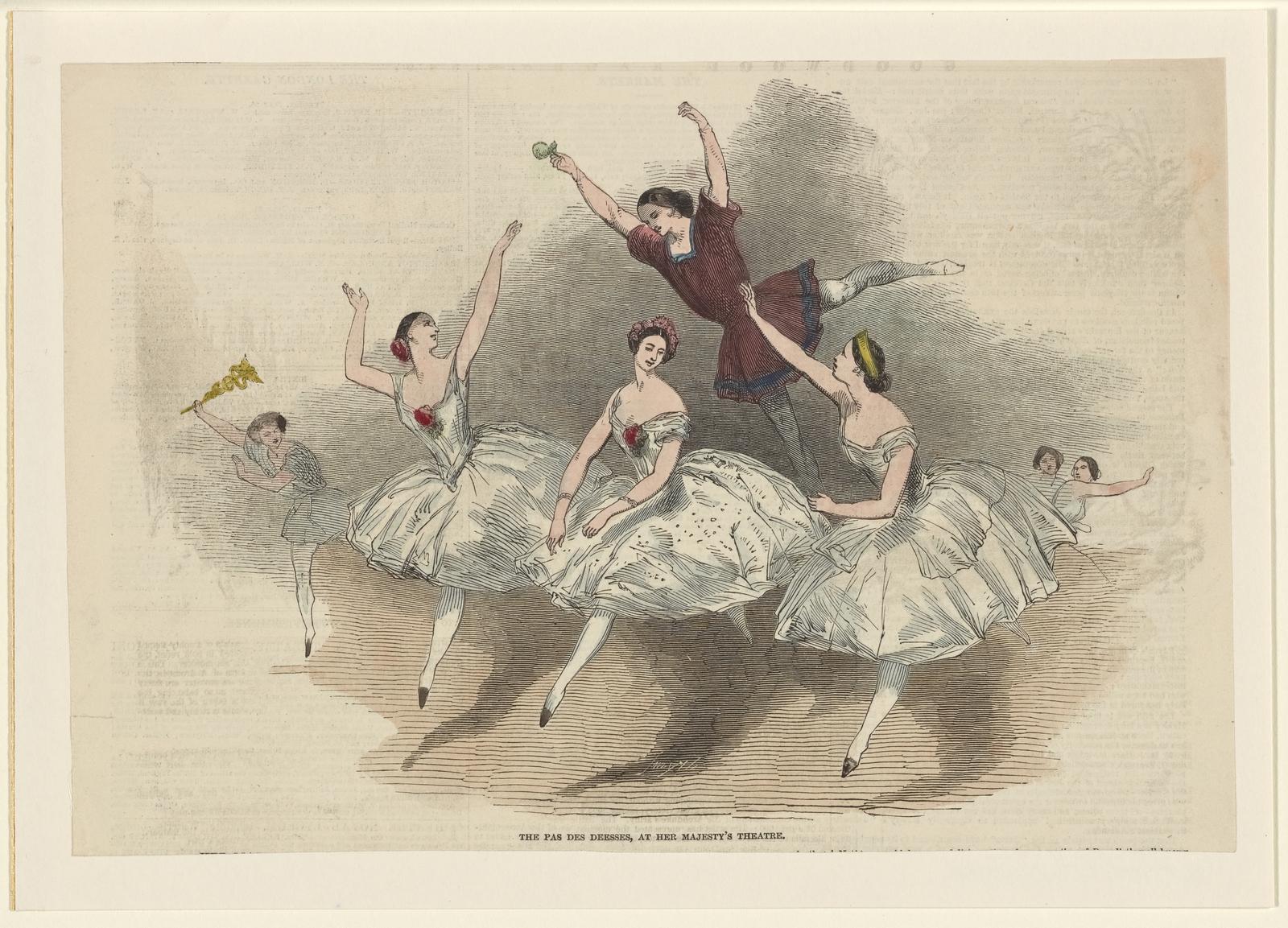 The Pas des déesses, at Her Majesty's Theatre