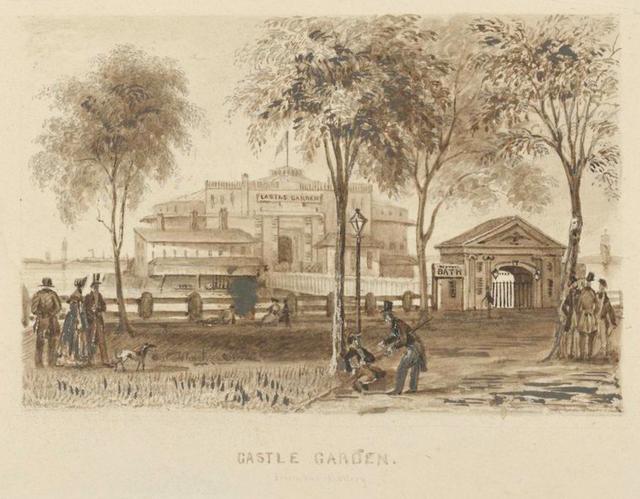 Castle Garden from the Battery.