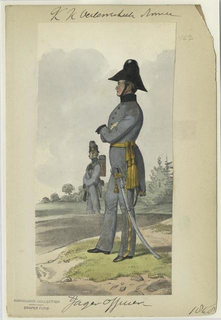 K.K Österreich Armée, Jäger Officier 1848