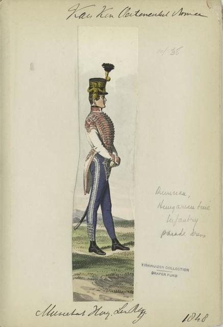 K.K Österreich Armée, Musiekal Hug Lin Reg 1848