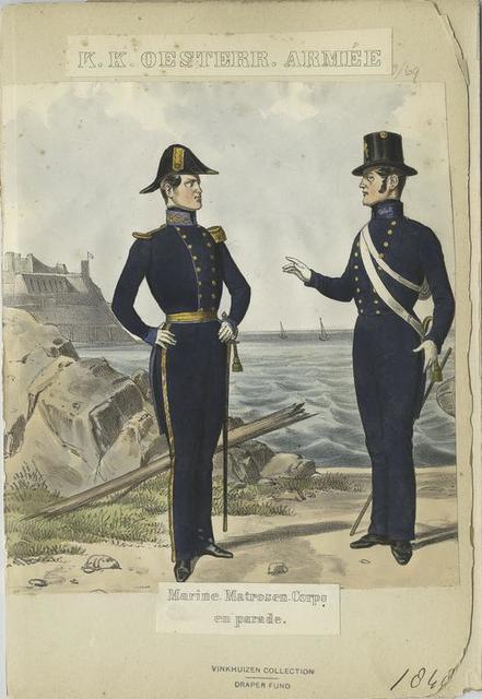 Marine Matrosen Corps en parade